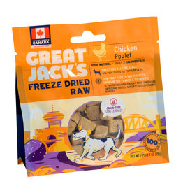 Great Jack's Great Jack's Freeze Dried Raw Treats - Chicken - 1 oz