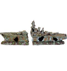 Underwater Treasures Underwater Treasures Battleship Ruins