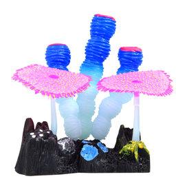 Underwater Treasures Underwater Treasures Glow Action Sponge and Carpet Corals - Blue