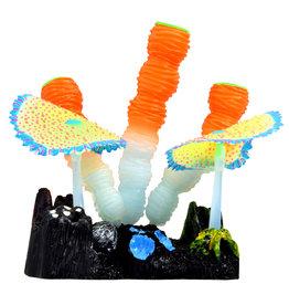 Underwater Treasures Underwater Treasures Glow Action Sponge and Carpet Corals - Orange