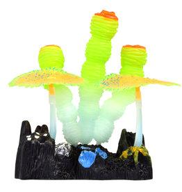 Underwater Treasures Underwater Treasures Glow Action Sponge and Carpet Corals - Yellow
