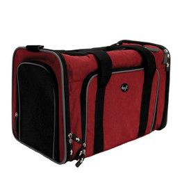 Dogit Dogit Explorer Soft Carrier Expandable Carry Bag - Burgundy