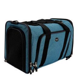 Dogit Dogit Explorer Soft Carrier Expandable Carry Bag - Blue