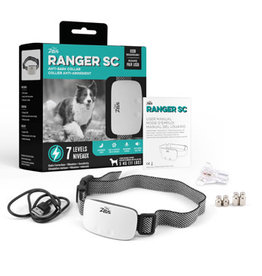 Zeus Ranger SC Anti-Bark Collar with Static Correction