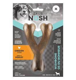Zeus NOSH Strong Wishbone Chew Toy - Chicken Flavour - Medium - 15 cm (6 in)