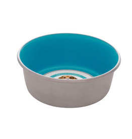 Dogit Dogit Stainless Steel Non-Skid Dog Bowl - Blue - 560 ml (19 fl.oz.)
