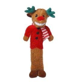 """Multipet Holiday Loofa Reindeer 6"""""""