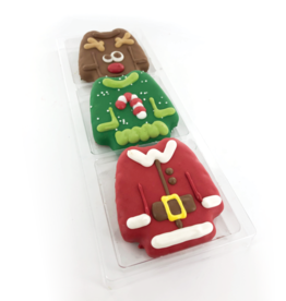 Bosco and Roxy's Cookie - Bosco and Roxy's Pre-Packaged Ugly Sweaters - 3 pack