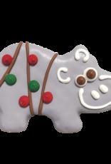 Bosco and Roxy's Bosco and Roxy's Holiday Hippos Cookie - 1 pc.