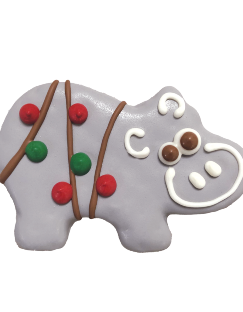 Bosco and Roxy's Cookie - Bosco and Roxy's Holiday Hippos Cookie - 1 pc.