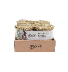 Living World Green Botanicals Meadow Hay Bale - Natural - 4 pack - 150 g each