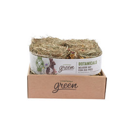 Living World Green Botanicals Meadow Hay Bale - Herb & Flower Mix - 4 pack