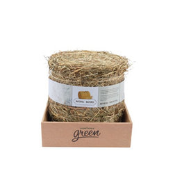 Living World Green Botanicals Meadow Hay Bale - Natural - 500 g