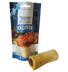 Rollover Rollover Stuffed Bone - Turkey and Cranberry