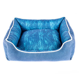 Resploot Resploot Sofa Bed - Rectangular - Deep Ocean - 60 x 50 x 21 cm (24 x 20 x 8 in)