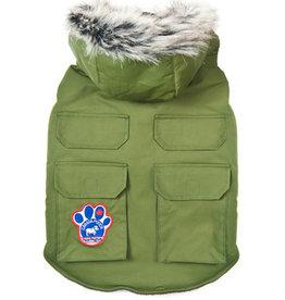 Canada Pooch Canada Pooch Everest Explorer Jacket Green 26