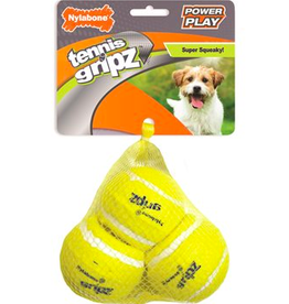 Nylabone Nylabone Power Play Tennis Ball 3-Pack - Small