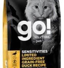 GO! Go! Sensitivities LID Grain-Free Duck Recipe for Cats 16lb