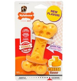 Nylabone Nylabone Power Chew Cheese Bone Wolf