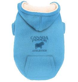 Canada Pooch Canada Pooch Cozy Caribou Hoodie Light Blue 18