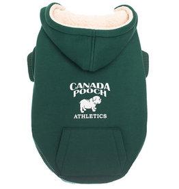 Canada Pooch Canada Pooch Cozy Caribou Hoodie Green 12