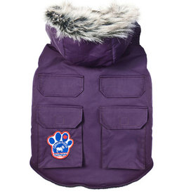Canada Pooch Canada Pooch Everest Explorer Jacket Purple 28