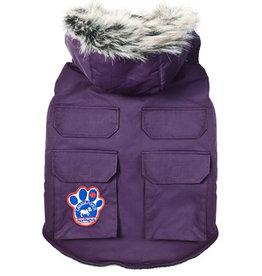 Canada Pooch Canada Pooch Everest Explorer Jacket Purple 28