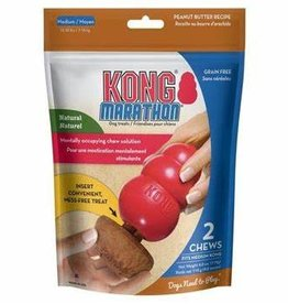 Kong Kong Marathon Peanut Butter Med Chews (2 pk)