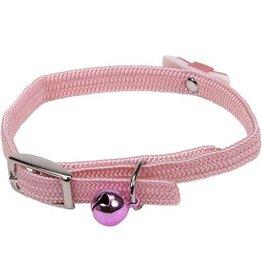 "Coastal Pet Lil Pals Safety Kitten Collar Light Pink 8x5/16"""