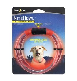 Nite Ize Nite Ize NiteHowl LED Safety Necklace Red