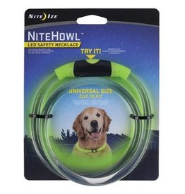 Nite Ize Nite Ize NiteHowl LED Safety Necklace Green