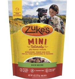 Zuke's Zukes Mini Naturals Duck Recipe 6oz