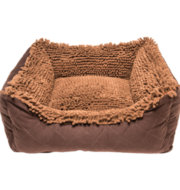 Dog Gone Smart Dog Gone Smart Dirty Dog Lounger Bed Brown 22 x 20""