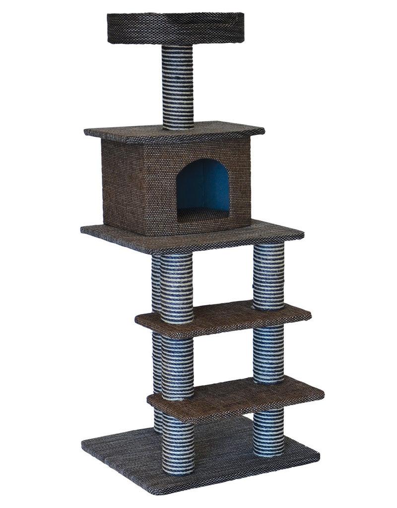 "Animal Treasures Animal Treasures Cat Tree Scratcher - Multi Level - 51"""