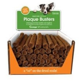 Crumps Crumps' Naturals Plaque Busters with Bacon 7in - 1 pc.