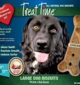 treat time Treat Time Large Dog Biscuit Chicken Flavour 7lb