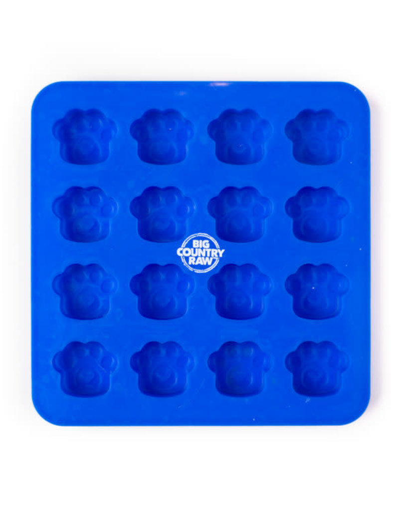 Big Country Raw Big Country Raw Frozen Treat Mold - Silicone Mold - Small Blue