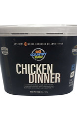 Big Country Raw Big Country Raw Chicken Dinner Tub - 4 lb