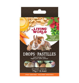 Living World Small Animal Drops - Multi-Mix Flavour - 75 g