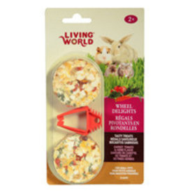 Living World Wheels Delights Tomato & Herb Flavor 2pk