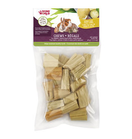 Living World Small Animal Chews - Sugarcane Stalk Cubes - 40 g
