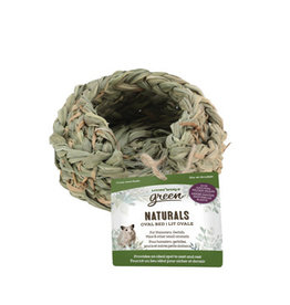Living World Green Naturals - Oval Bed