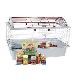 Living World Deluxe Guinea Pig Starter Kit - 78 cm L x 48 cm W x 50 cm H (30.7in x 18.9in x 19.7in)