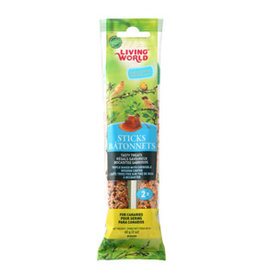 Living World Canary Sticks Honey Flavour - 2-pack