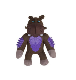 Zeus Studs Dog Toy - Hippo - Large