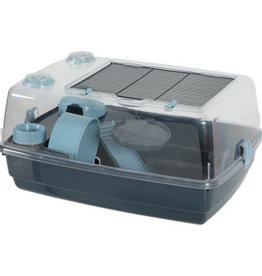 Zolux Zolux Indoor 2 Vision Hamster Cage Sky Blue