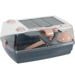 Zolux Zolux Indoor 2 Vision Hamster Cage Pink