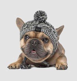 Canada Pooch Canada Pooch Polar Pom Pom Hat Charcoal - Large