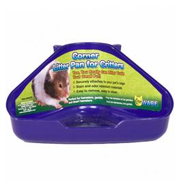 Ware Corner Litter Pan for Critters