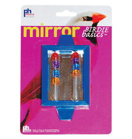 Prevue Hendryx Prevue Hendryx- Birdie Basics Clip-on Mirror with Beads